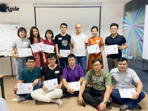 Lớp học Agile Project Management