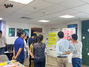 Đào tạo OKR của Học viện Agile tại doanh nghiệp CO-WELL