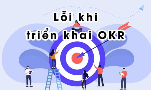 Lỗi khi triển khai OKR