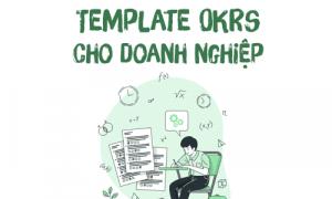 template OKR cho doanh nghiệp