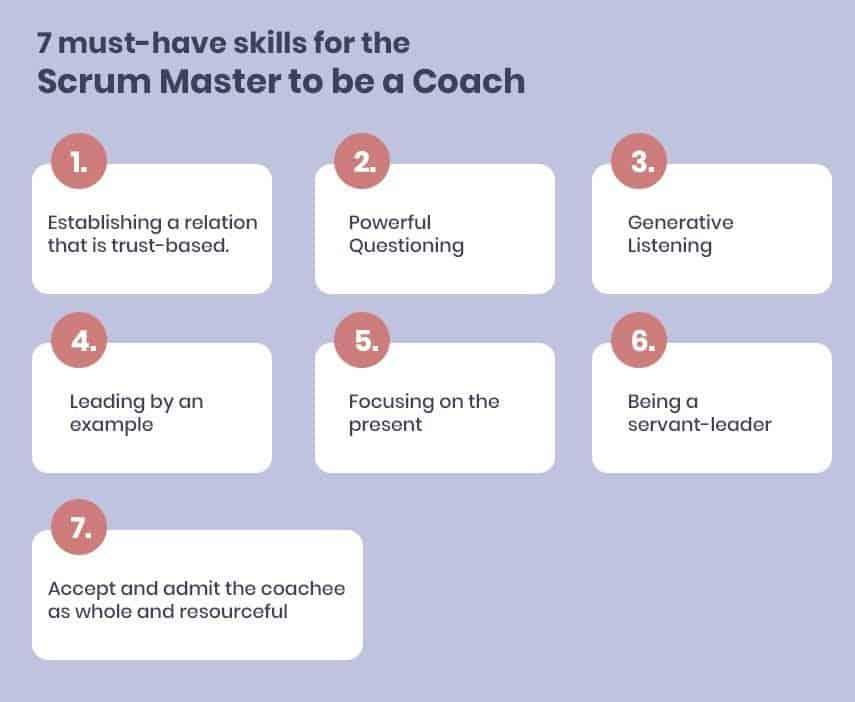 7 kỹ năng cần có để Scrum Master trở thành một Huấn luyện viên